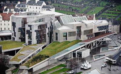 Edimburgo, el Parlamento