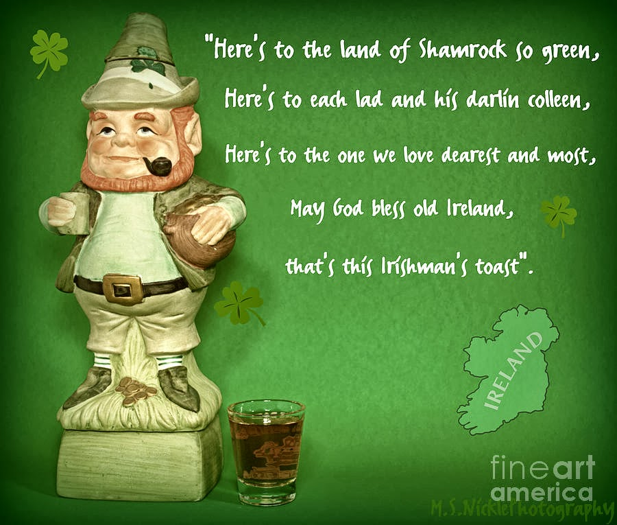 Irish Toasts Blessings Jokes