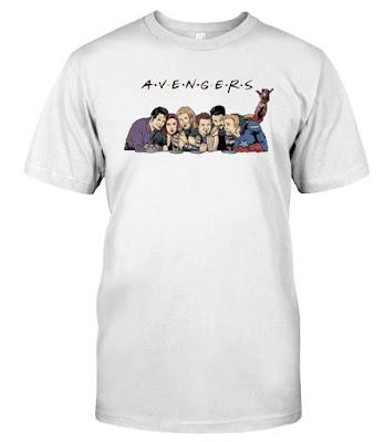 Avengers Friends T Shirts Hoodie Sweatshirt  GREAT T SHIRT