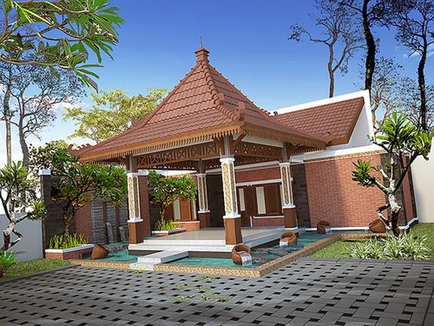 45 Desain Rumah Joglo Khas Jawa Tengah Desainrumahnya Com