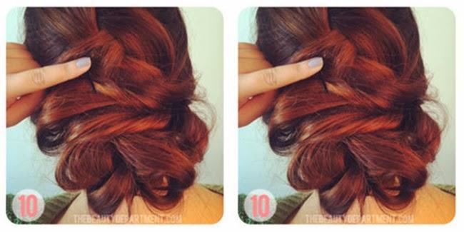 Tutorial+Rambut+Kepang+Pita