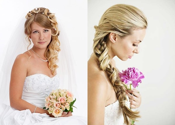 Wedding Hairstyle with Permanent Waves 3