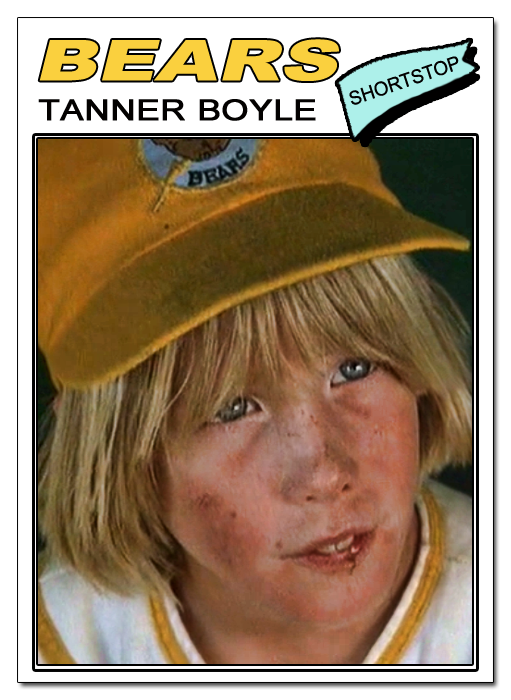 who played tanner in bad news bears