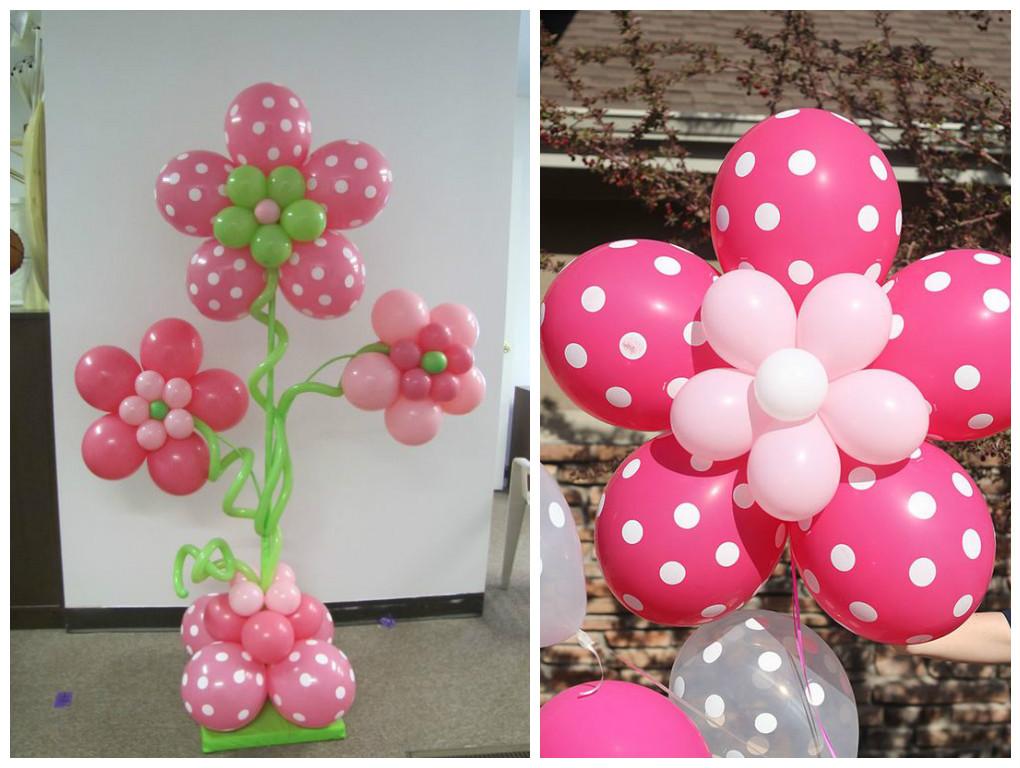 tutoriales para hacer lindas columnas con globos - Como Hacer Flores Con Globos