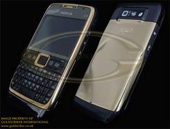 Nokia E71 24ct Gold Edition by Goldstriker
