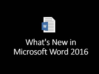 What's New in Microsoft Office Word 2016