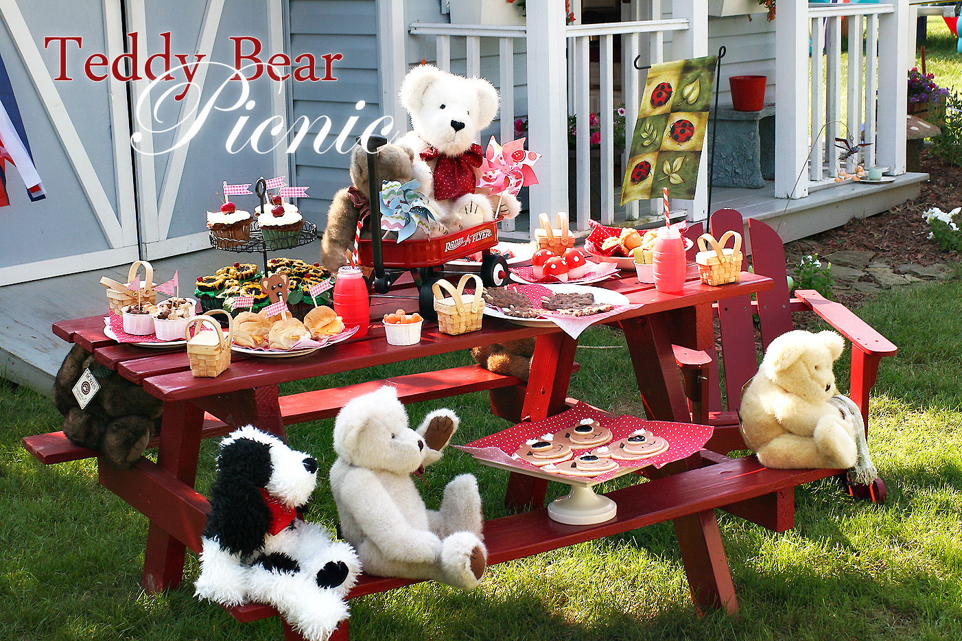Cutest Little Things Teddy Bear Picnic