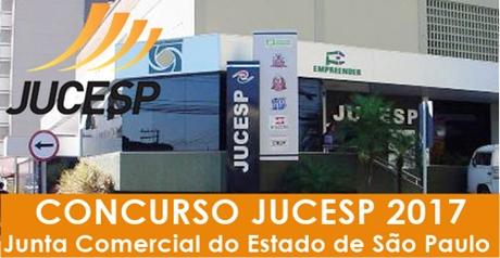 Concurso JUCESP SP 2017