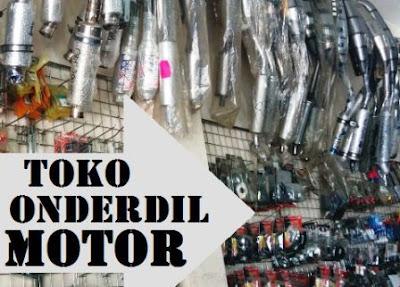 alamat toko suku cadang honda, yamaha, suzuki di Medan, Sumut