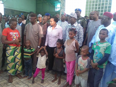 Photos: Notorious kidnappers arrested in Benue State, six children rescued