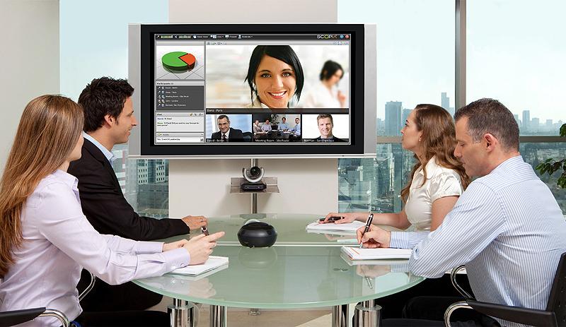 hội nghị truyền hình giúp hợp tác từ xa