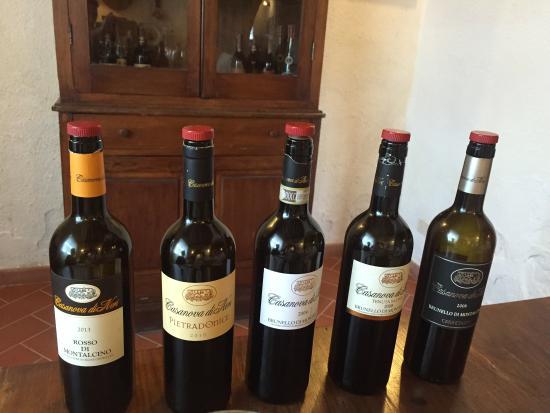 O que fazer na Azienda Agricola Casanova di Neri em Montalcino
