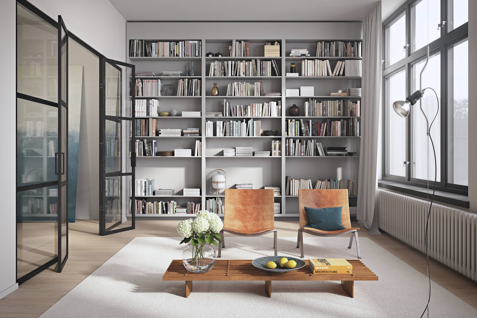 Study interior