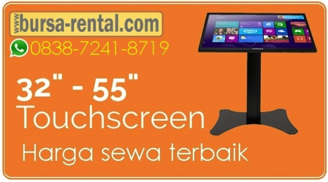 Harga sewa tv touchscreen