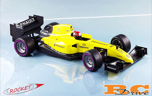 how to make rc f1 car
