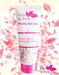 Fair N Pink Whitening Body Serum