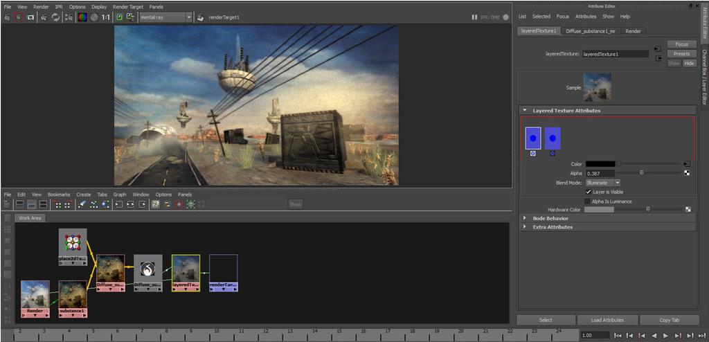 MIRAX 3D 奇銳科技: Substance Bonus Tools for Maya 2012下載