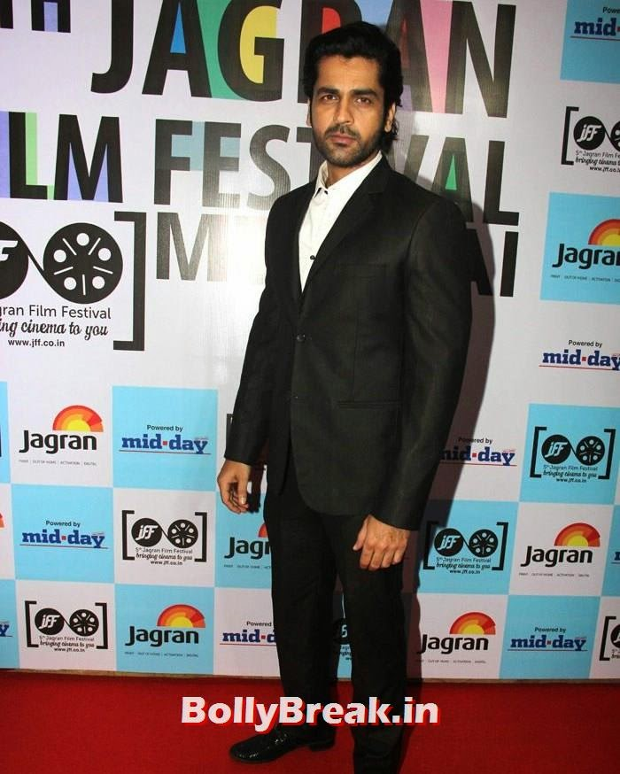 Arjan Bajwa, 5th Jagran Film Festival Red Carpet Pics