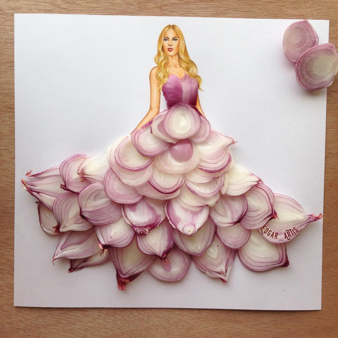 14-Onions-Edgar-Artis-Drawings-that-use-Flowers-Food-and-Objects-www-designstack-co