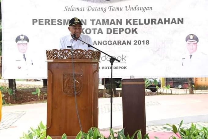Maret 2019, Alun Alun Kota Depok Dioperasionalkan