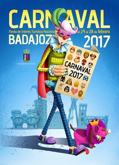 Carnaval de Badajoz 2017 final concurso de murgas ganadores