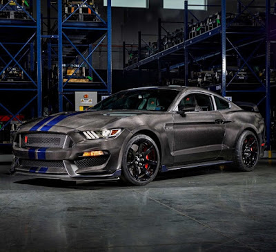 2016 Ford Mustang GT350R Carbon Fiber Bodied - Jay Leno's Garage