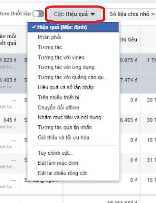 Cách Xem Báo Cáo (Reporting) Quảng Cáo Facebook 6