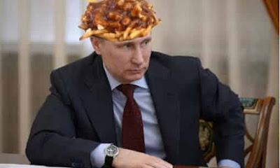 Typo Vladimir Puttin jadi Vladimir Poutine