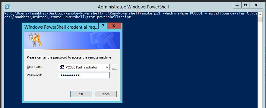 SCCM 2012 Powershell Scripts: Run powershell on remote