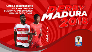 Ini Harga Tiket Madura FC vs Madura United, 6 Desember 2018
