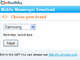 Ebuddy For Chat 322 or GT-C3222 - Samsung Phone Tutorial