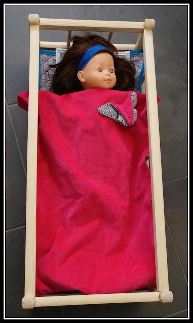 linge de lit poupée corolle