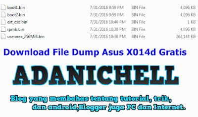 File Dump Asus X014d