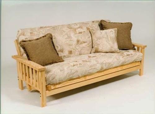 wide premium full size cheap futon couch