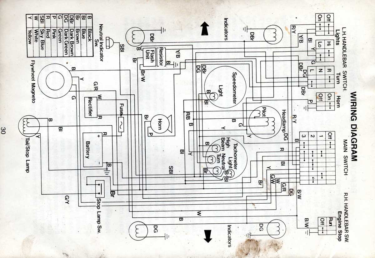 1976 yamaha dt 250 wiring diagram 1995 yamaha timberwolf 250 wiring diagram • wiring diagram ... #15