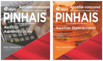 Apostila Concurso Município de Pinhais 2017, para Emprego Público