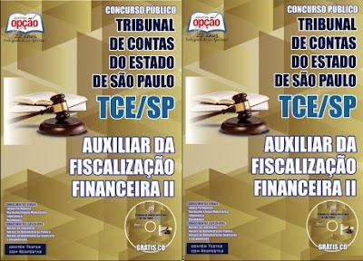 apostila Concurso Auxiliar da Fiscalização TCESP 2017