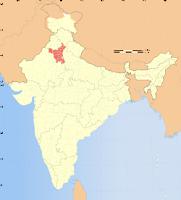 Haryana-locator-map