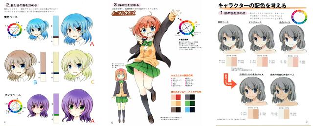 Descarga: Como dibujar una Chica Moe manga.
