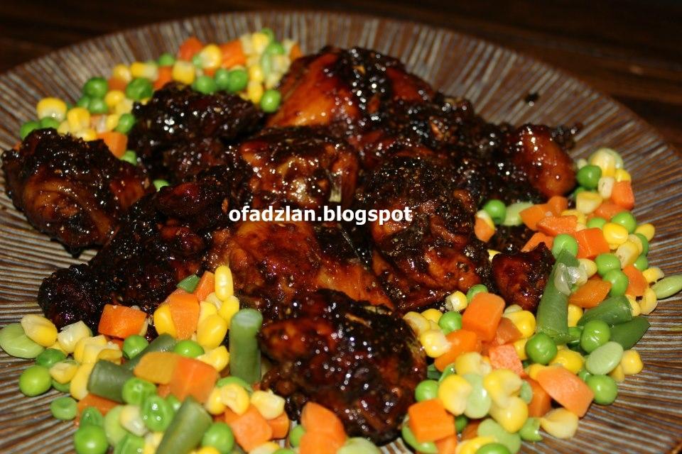 Resepi Ayam Masak Kicap Tiga Budak Gemok - Resepi Book f