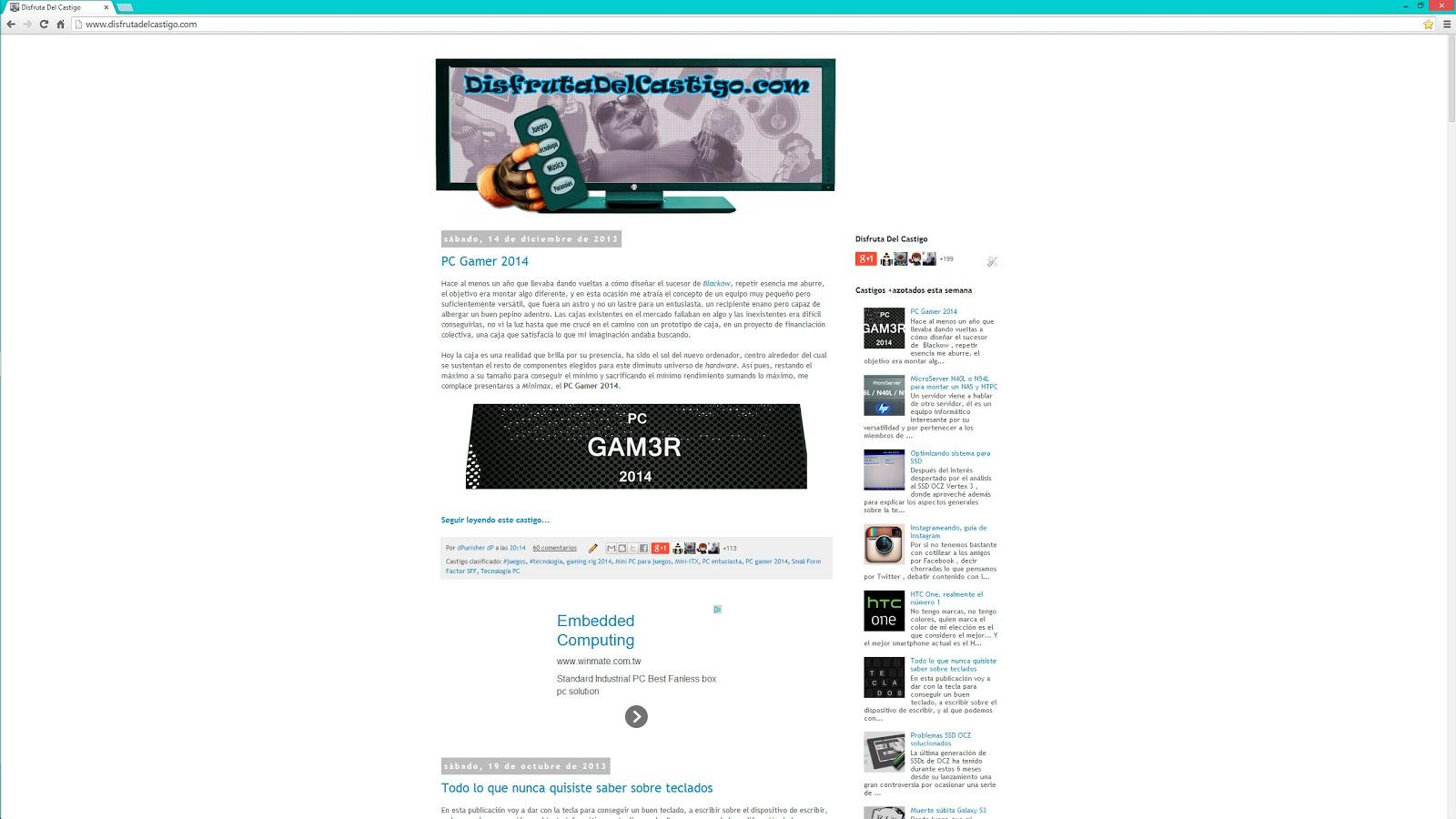 Web a 1440p - comparativa con 1080p y 2160p