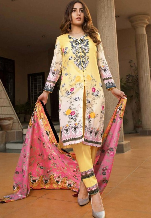 bc977e3b08 Gul ahmed Original lawn Pakistani Suits wholesale - Diwan fashion