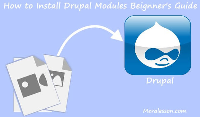 drupal install modules