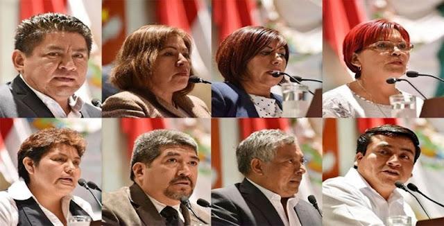 Diputados locales de Morena renuncian voluntariamente al fuero.