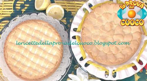 Prova del cuoco - Ingredienti e procedimento della ricetta Torta alla ricotta con lemon curd di Natalia Cattelani
