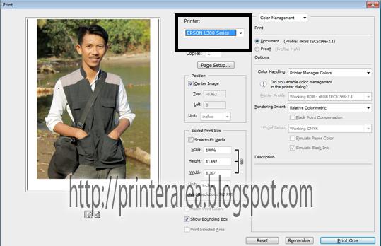 Tips Mencetak Foto Dengan Epson L120   Pusat Tutorial