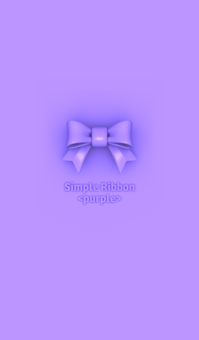 Simple Ribbon <purple>