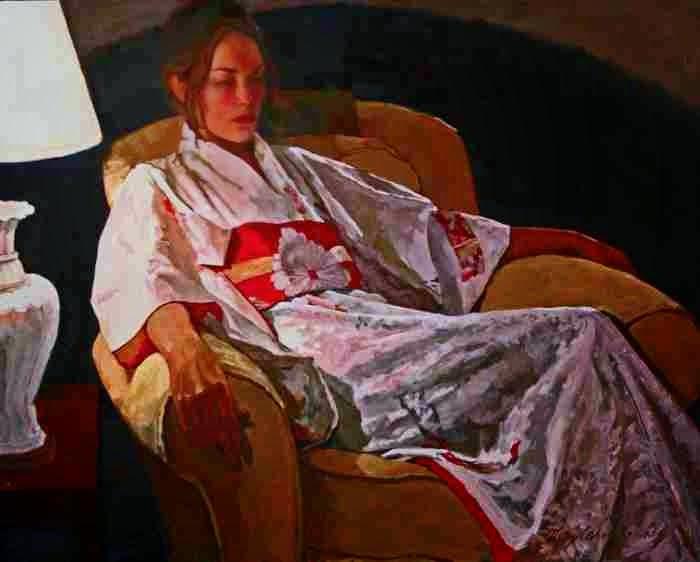 Современная американская художница. Mary Carol Kenney