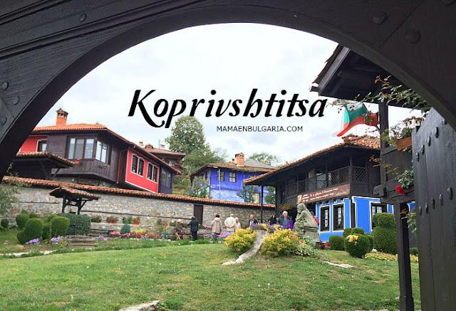 las casas de Koprivshtitsa