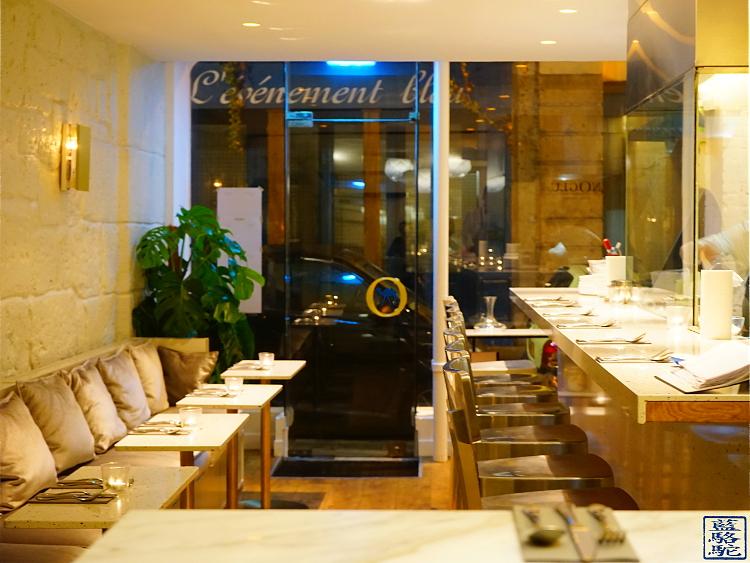 Le Chameau Bleu - Blog Gastronomie et Voyage - Salle du restaurant Noglu Marais - Resto Paris